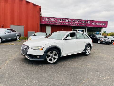2013 Audi Allroad for sale at LUXURY IMPORTS AUTO SALES INC in North Branch MN