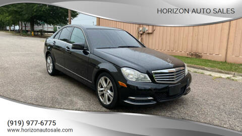2013 Mercedes-Benz C-Class for sale at Horizon Auto Sales in Raleigh NC