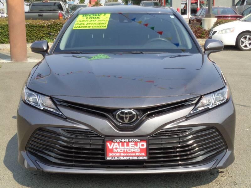 2019 Toyota Camry for sale at Vallejo Motors in Vallejo CA