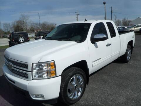 2013 Chevrolet Silverado 1500 for sale at CARSON MOTORS in Cloverdale IN