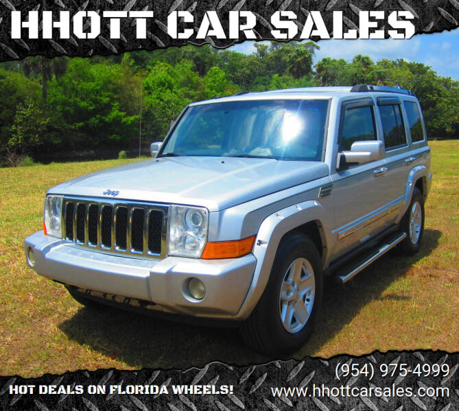 2009 Jeep Commander for sale at HHOTT CAR SALES in Deerfield Beach FL