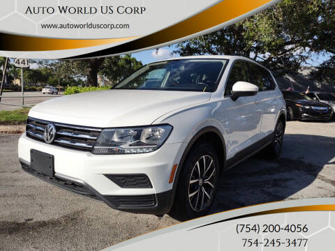 2019 Volkswagen Tiguan for sale at Auto World US Corp in Plantation FL
