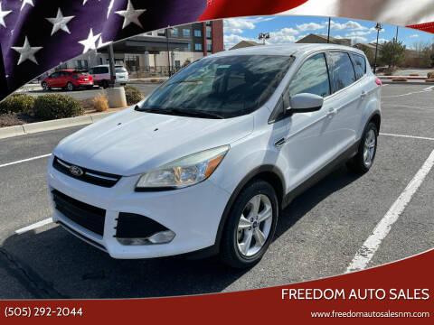 2013 Ford Escape for sale at Freedom Auto Sales in Albuquerque NM