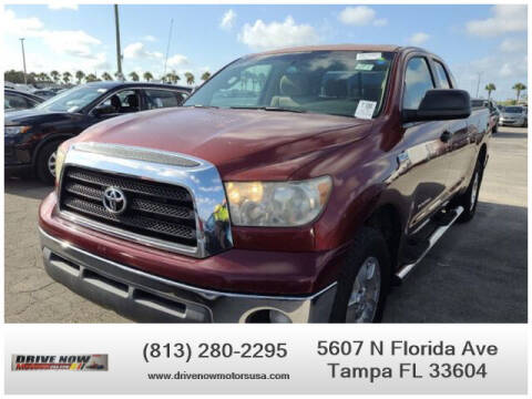 2008 Toyota Tundra for sale at Drive Now Motors USA in Tampa FL