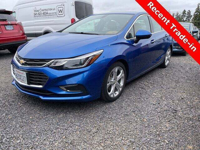 2018 Chevrolet Cruze for sale in Mcminnville, OR
