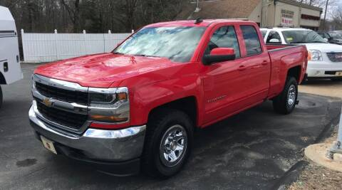 2018 Chevrolet Silverado 1500 for sale at BORGES AUTO CENTER, INC. in Taunton MA