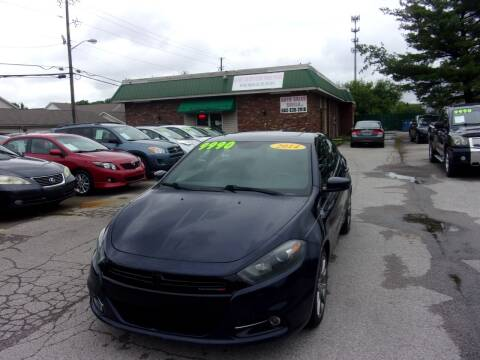 2014 Dodge Dart for sale at Auto Sales Sheila, Inc in Louisville KY