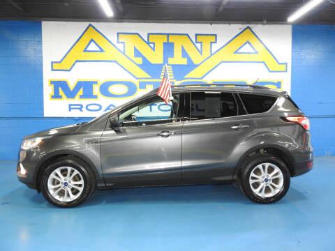 2018 Ford Escape for sale at ANNA MOTORS, INC. in Detroit MI