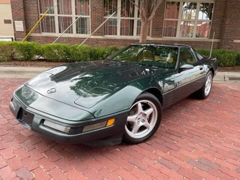 1991 Chevrolet Corvette for sale at Euroasian Auto Inc in Wichita KS