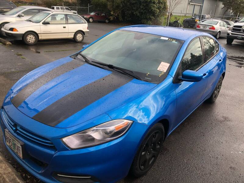 2015 Dodge Dart for sale at Blue Line Auto Group in Portland OR