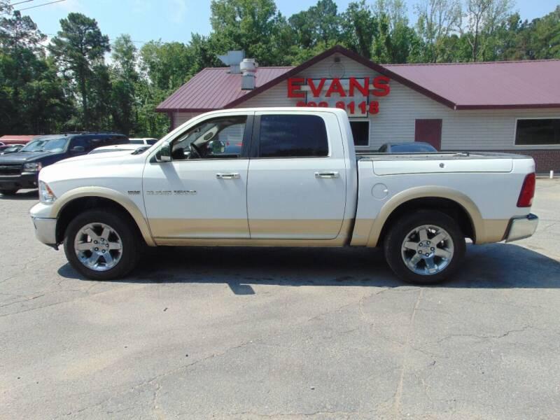 2011 RAM Ram Pickup 1500 for sale at Evans Motors Inc in Little Rock AR