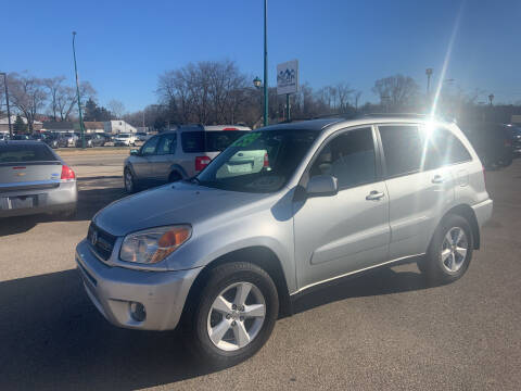 2004 Toyota RAV4 for sale at Peak Motors in Loves Park IL