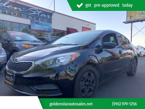 2015 Kia Forte for sale at Golden Star Auto Sales in Sacramento CA