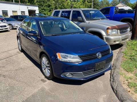 2012 Volkswagen Jetta for sale at ENFIELD STREET AUTO SALES in Enfield CT