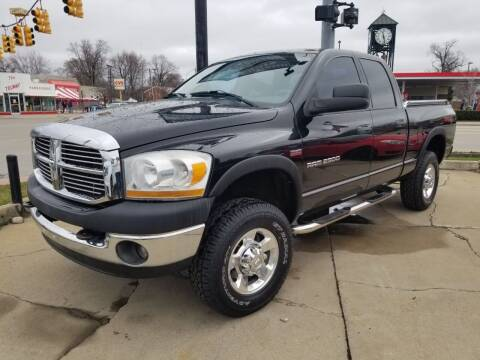 2006 Dodge Ram Pickup 2500 for sale at Madison Motor Sales in Madison Heights MI
