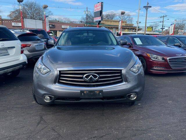 2012 Infiniti FX35 for sale at Park Avenue Auto Lot Inc in Linden NJ