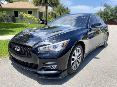 2015 Infiniti Q50 for sale at CAR UZD in Miami FL