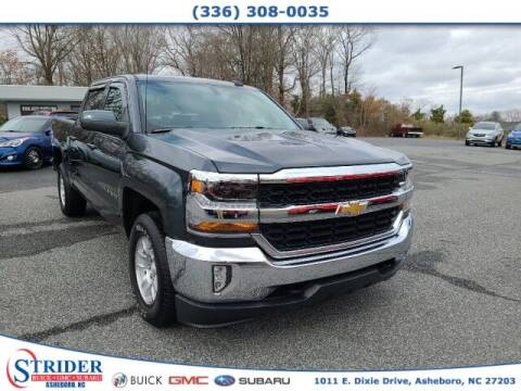 2017 Chevrolet Silverado 1500 for sale at STRIDER BUICK GMC SUBARU in Asheboro NC