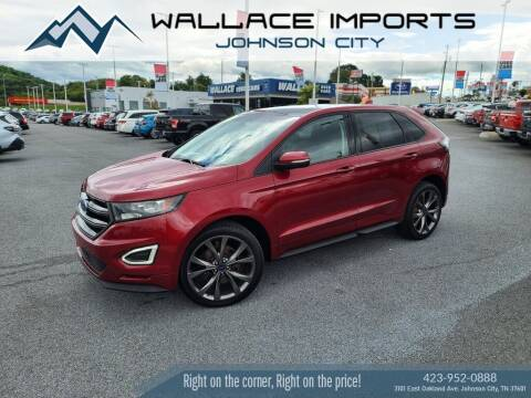 2016 Ford Edge for sale at WALLACE IMPORTS OF JOHNSON CITY in Johnson City TN