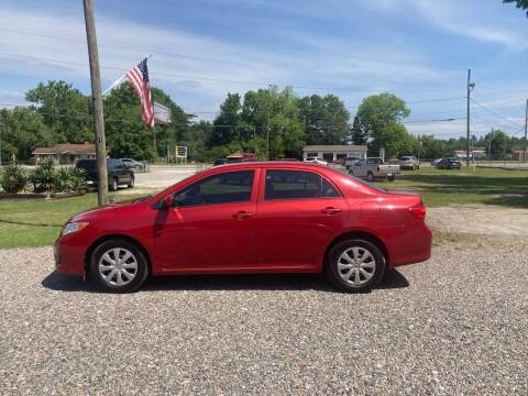 2009 Toyota Corolla for sale at Joye & Company INC, in Augusta GA
