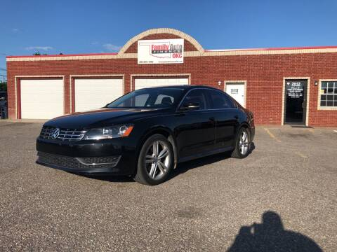 2015 Volkswagen Passat for sale at Family Auto Finance OKC LLC in Oklahoma City OK