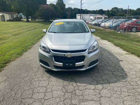 2016 Chevrolet Malibu Limited for sale at Speed Auto Mall in Greensboro NC