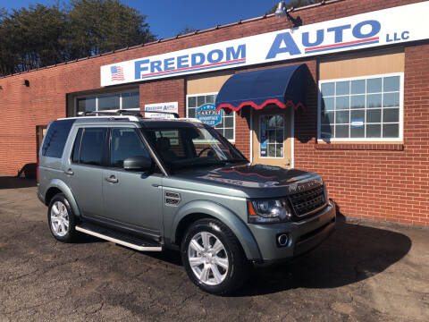 2016 Land Rover LR4 for sale at FREEDOM AUTO LLC in Wilkesboro NC