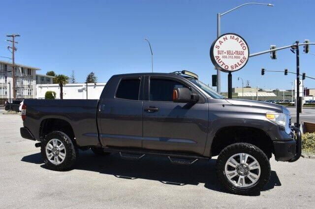 2015 Toyota Tundra for sale at San Mateo Auto Sales in San Mateo CA