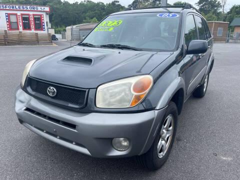 2005 Toyota RAV4 for sale at Cars for Less in Phenix City AL