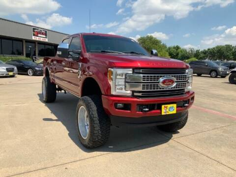2017 Ford F-250 Super Duty for sale at KIAN MOTORS INC in Plano TX