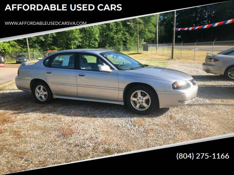 2005 Chevrolet Impala for sale at AFFORDABLE USED CARS in Richmond VA