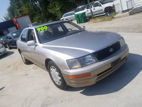 1995 Lexus LS 400 for sale at Palmer Automobile Sales in Decatur GA