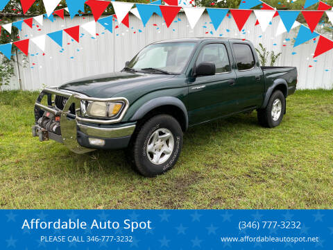 2001 Toyota Tacoma for sale at Affordable Auto Spot in Houston TX