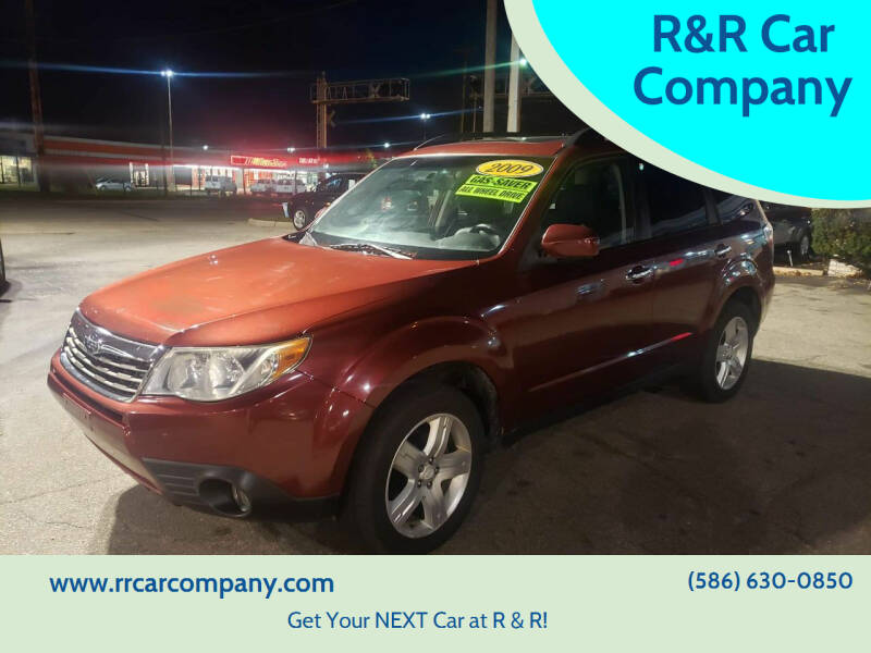 2009 Subaru Forester for sale at R&R Car Company in Mount Clemens MI