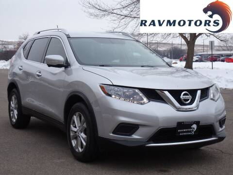 2015 Nissan Rogue for sale at RAVMOTORS in Burnsville MN