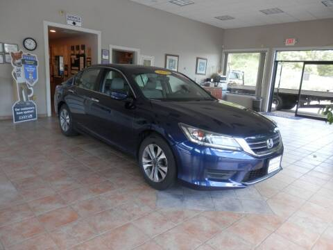 2015 Honda Accord for sale at ABSOLUTE AUTO CENTER in Berlin CT