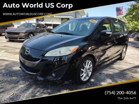 2013 Mazda MAZDA5 for sale at Auto World US Corp in Plantation FL