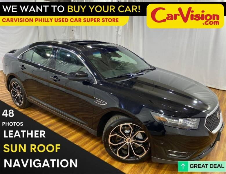2018 Ford Taurus for sale at Car Vision Mitsubishi Norristown - Car Vision Philly Used Car SuperStore in Philadelphia PA