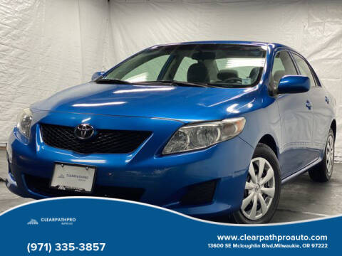2009 Toyota Corolla for sale at CLEARPATHPRO AUTO in Milwaukie OR