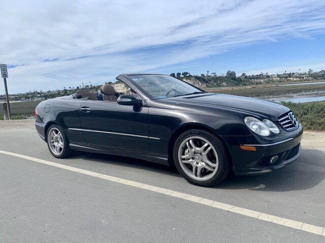 2004 Mercedes-Benz CLK for sale at TOP OFF MOTORS in Costa Mesa CA