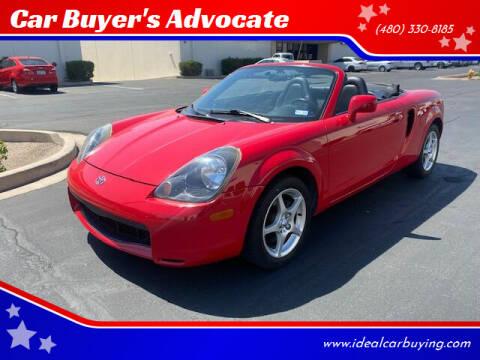 2001 Toyota MR2 Spyder for sale at Car Buyer's Advocate in Phoenix AZ