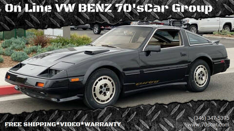 1984 Nissan 300ZX for sale at On Line VW BENZ 70'sCar Group in Warehouse CA