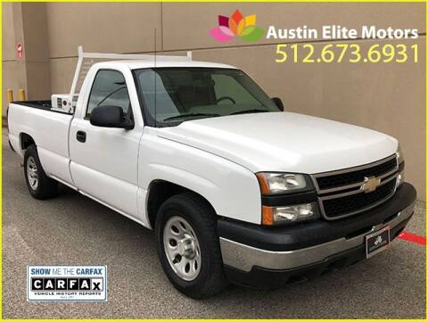 2006 Chevrolet Silverado 1500 for sale at Austin Elite Motors in Austin TX