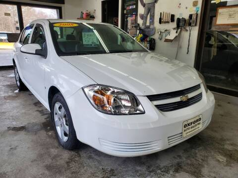 2008 Chevrolet Cobalt for sale at Oxford Auto Sales in North Oxford MA