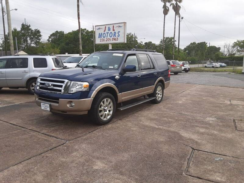 2012 Ford Expedition for sale at J & L Motors in Pascagoula MS
