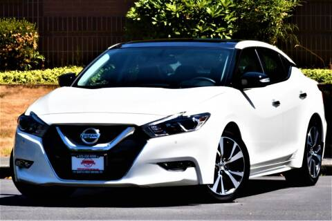 2017 Nissan Maxima for sale at SEATTLE FINEST MOTORS in Lynnwood WA