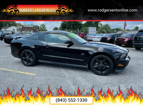 2010 Ford Mustang for sale at Rodgers Enterprises in North Charleston SC
