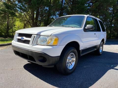 2001 Ford Explorer Sport for sale at Lenoir Auto in Lenoir NC