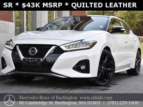 2019 Nissan Maxima for sale at Mercedes Benz of Burlington in Burlington MA
