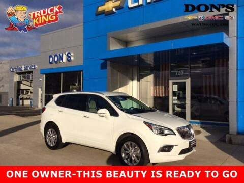 2017 Buick Envision for sale at DON'S CHEVY, BUICK-GMC & CADILLAC in Wauseon OH